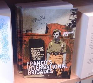 Franco's International Brigades on the shelf at Foyles's