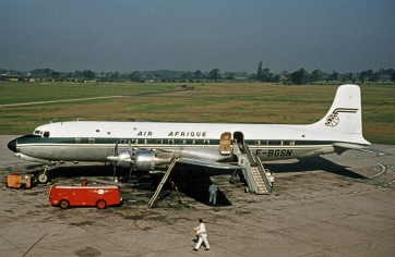 A DC6B, the same model as the Albertina (Wikipedia)