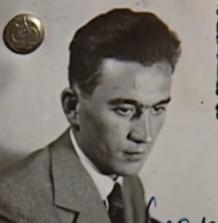 9. Czechoslovakian explorer Adolf Parlesak's passport photograph, mid-1930s (Author's Collection)