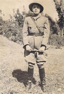 9. Right-Wing Cuban Adventurer Alejandro del Valle in Ethiopia, 1935