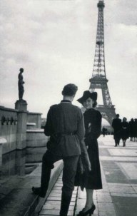 Woman and Soldier in Paris